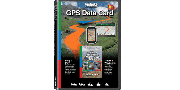 GPS Data Card Guide to California Backroads & 4-Wheel-Drive Trails
