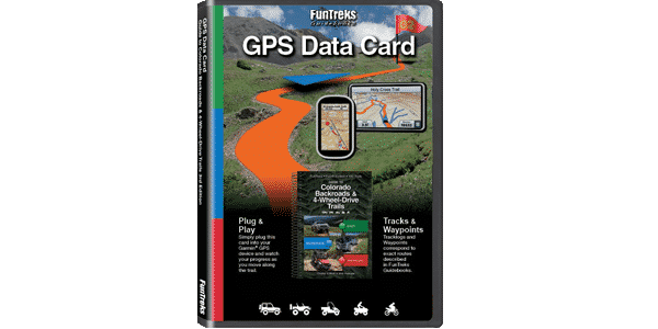 GPS Data Card Guide to Colorado Backroads & 4-Wheel-Drive Trails